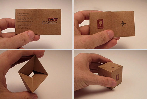Странна визитка 1