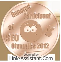 Почетен участник на SEO олимпиада 2012