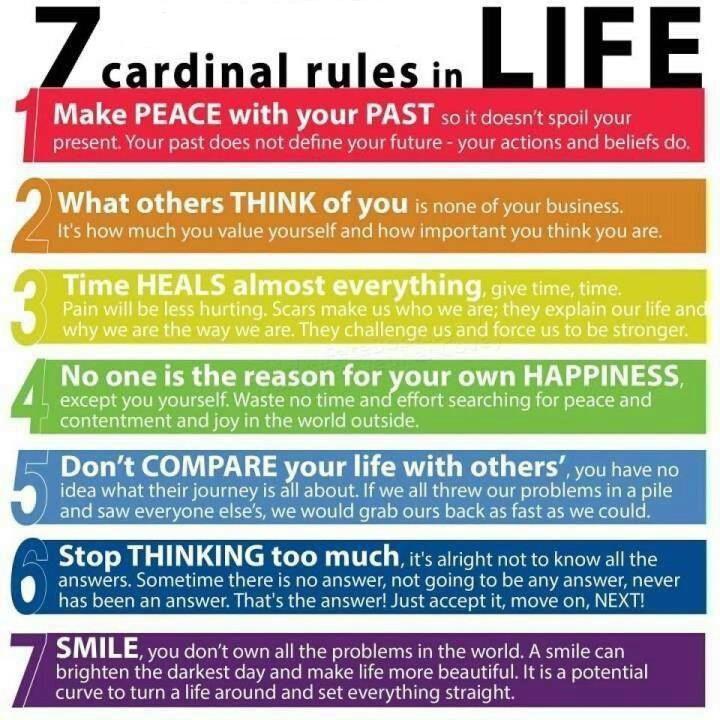 7-те правила