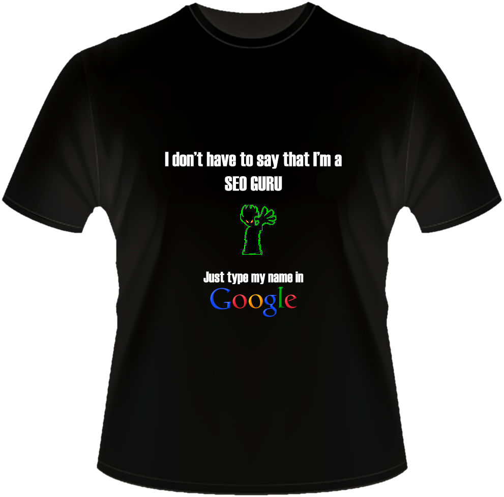 1 - SEO Guru Shirt