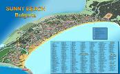 Sunny Beach Map